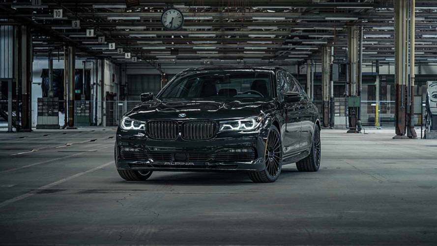 BMW Alpina B7 Exclusive Edition For Canada