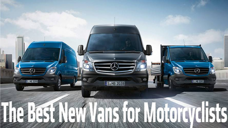 The Best New Vans for Motorcycle Transport