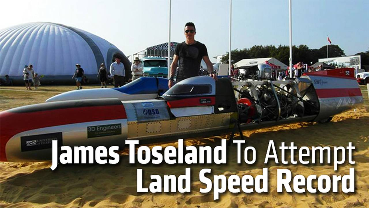 James Toseland To Attempt Land Speed Record