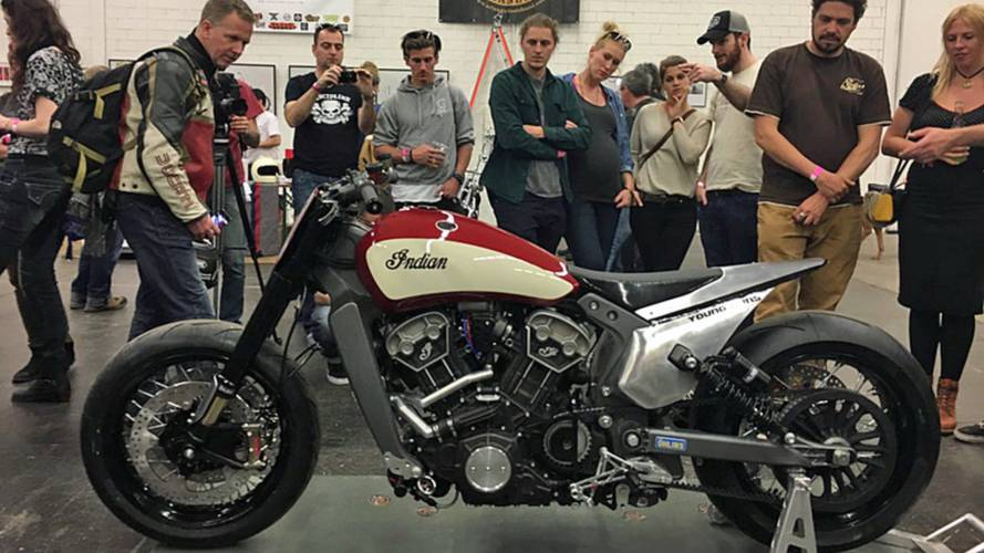 Swiss Builders Unveil Nitrous-Breathing Indian Scout
