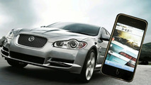Jaguar XF Magazine iPhone