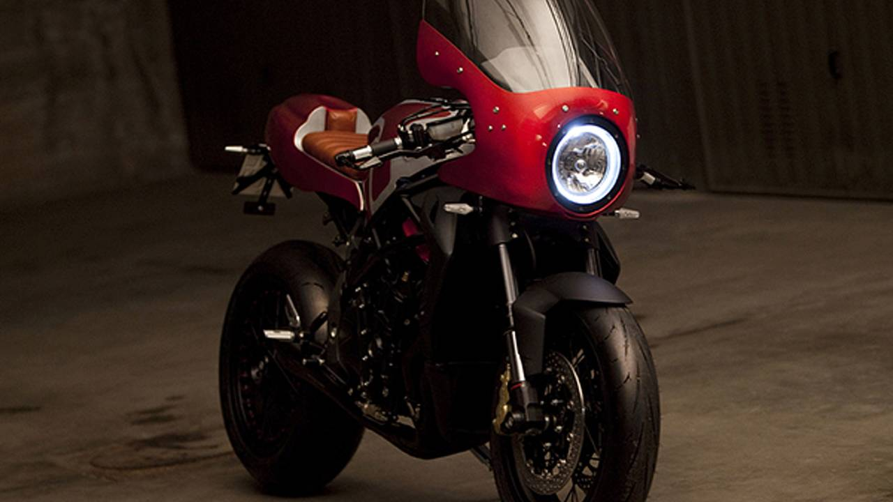 Believe it or not, but this is an MV Agusta Brutale