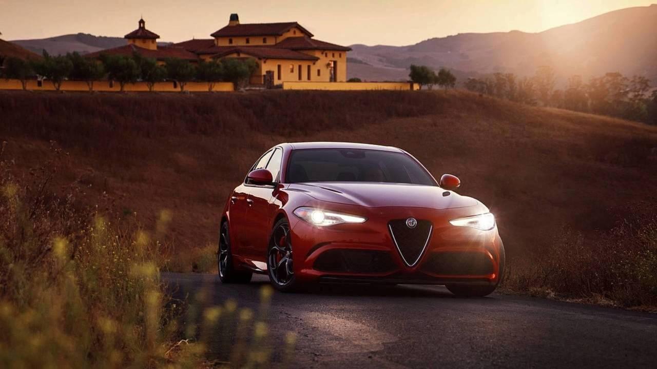 Alfa Romeo Giulia QV - Ferrari motoru