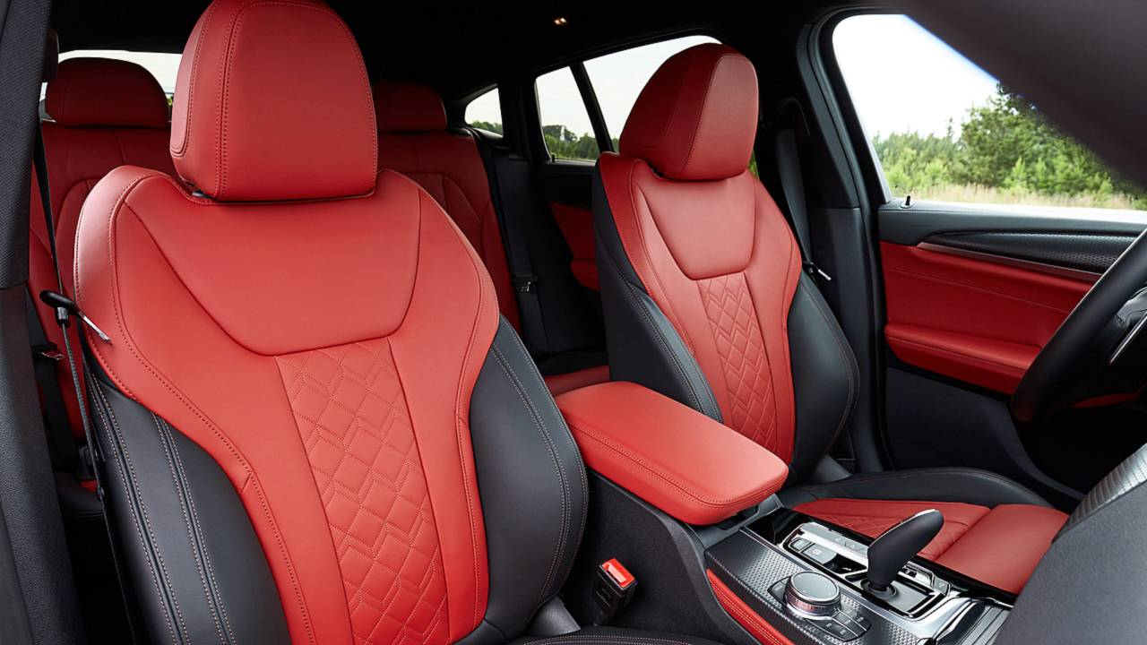 Bmw X3 Red Leather Interior Picture Idokeren