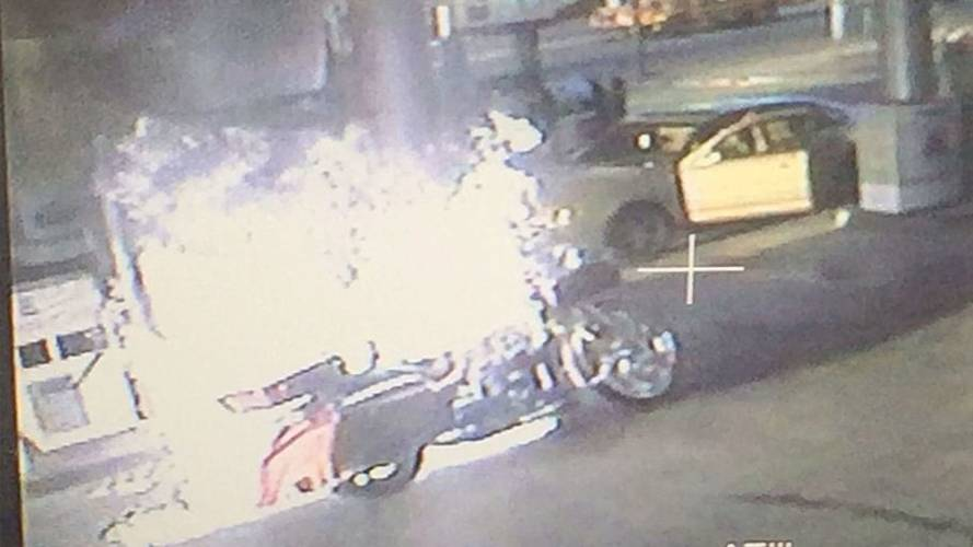 Rider Badly Burned While Pumping Gas - This is Why You Turn off Your Bike When Pumping Gas