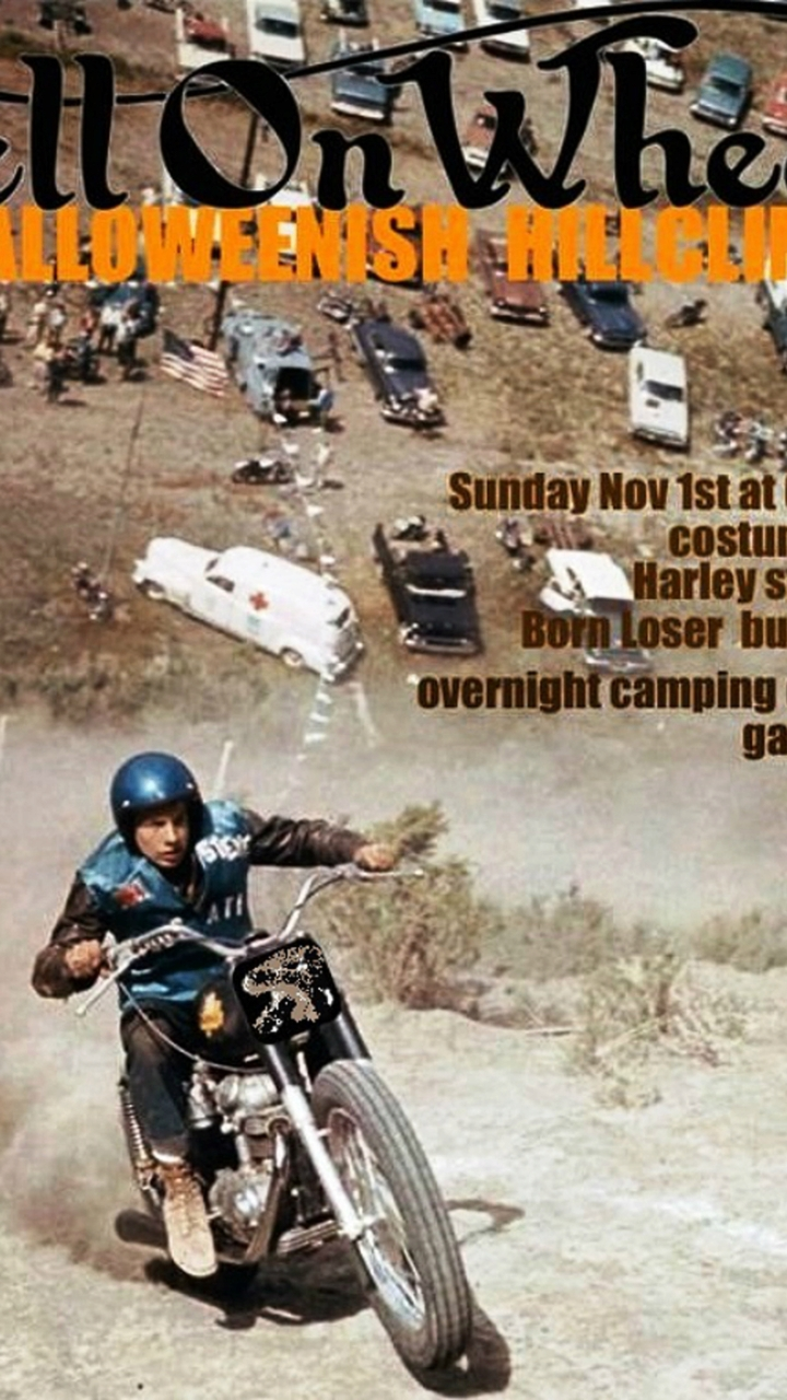 Call for Entries - Hell on Wheels Halloween Hill Climb 11/1