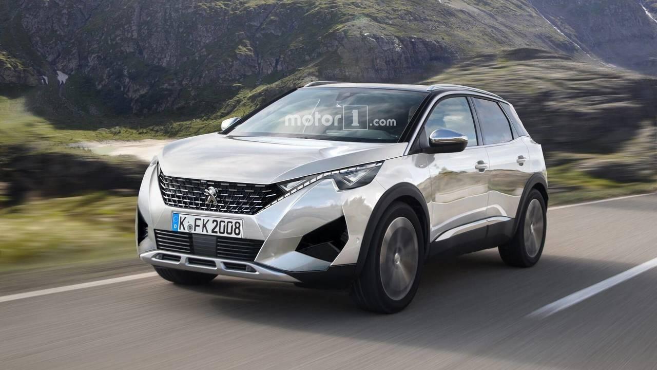 2019 Peugeot 2008 rendering