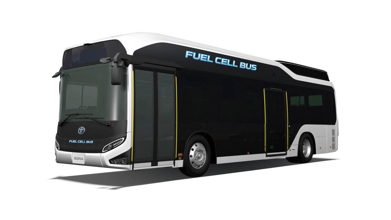 Toyota Sora fuel cell bus