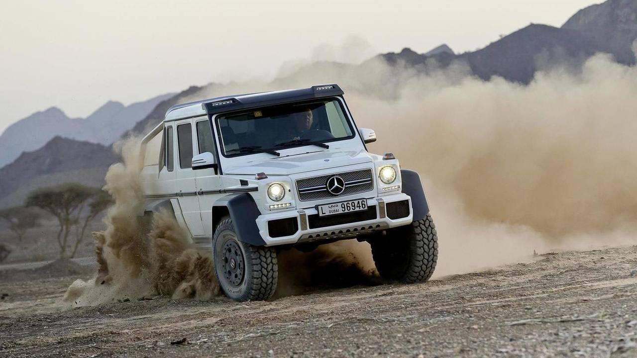 Mercedes-Benz G63 AMG 6x6 - 544,378 $ (2.4 milyon TL)
