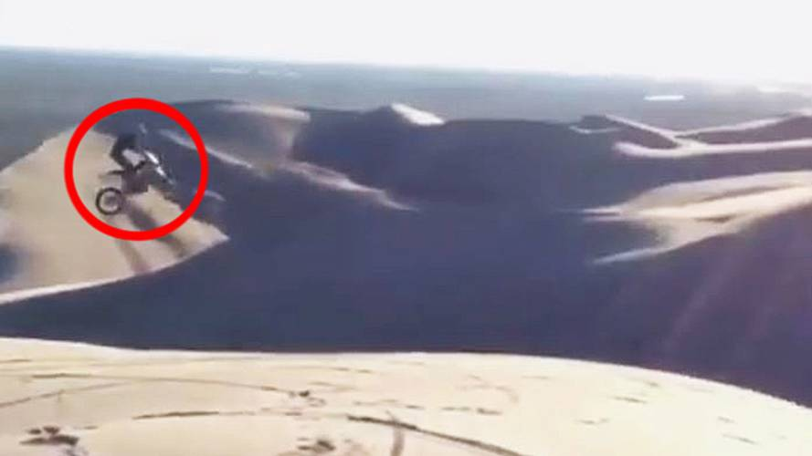 """Epic Dune Jump, """"Oh, Sh!t"""" - Video of the Day"""
