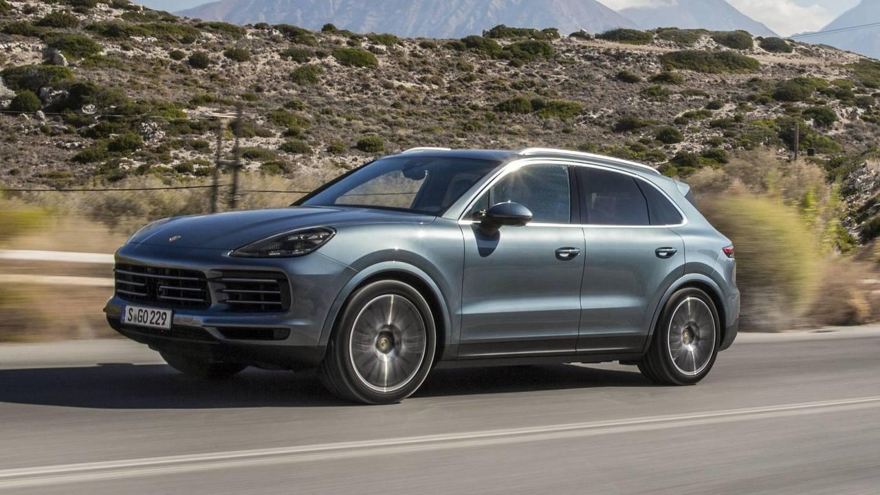 Porsche Cayenne – Rear Axle Steering