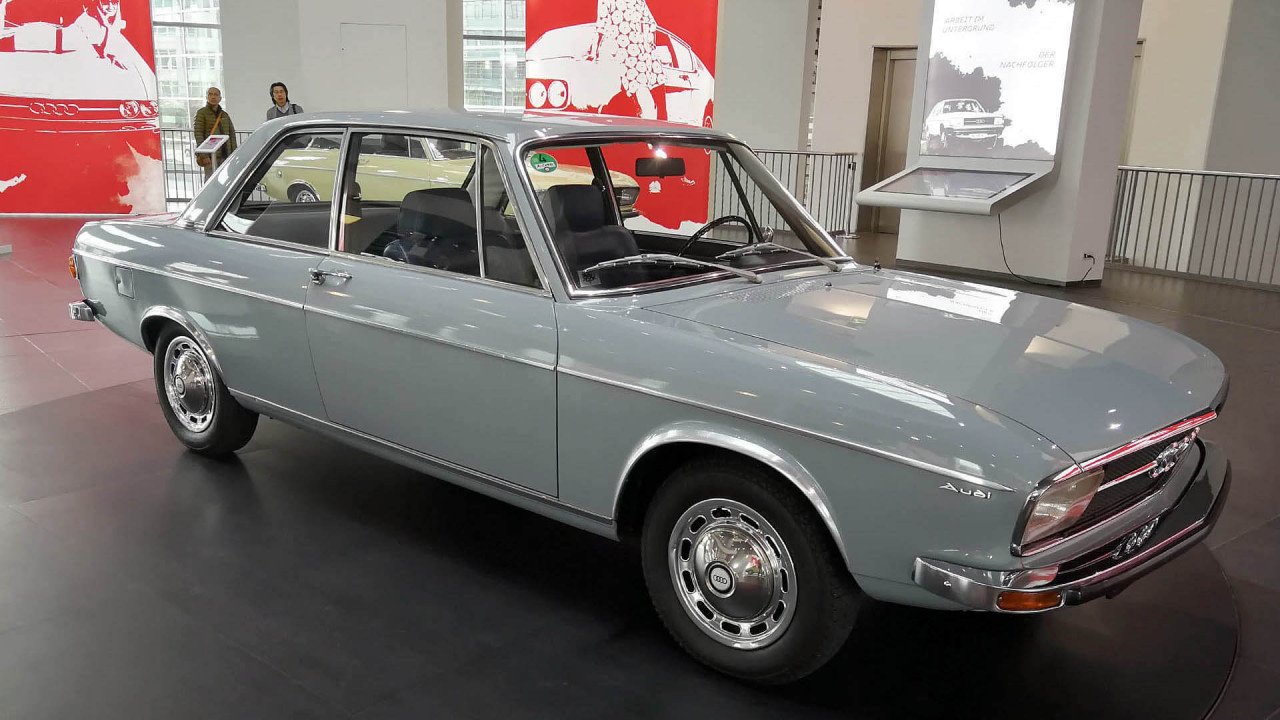 50 Jahre Audi 100
