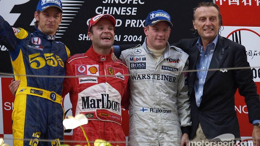 Todos los podios y victorias del GP de China