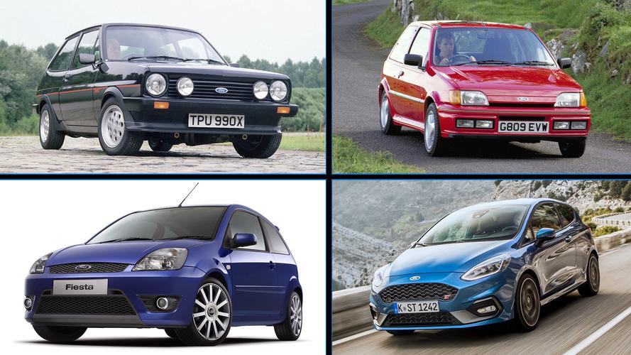 Ford Fiesta ST 2018: esta es la historia de sus antecesores