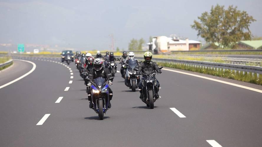 Yamaha test motorları İzmir'de