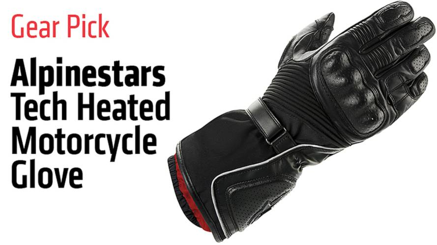 Gear Pick: Alpinestars Tech Heated Motorcycle Glove