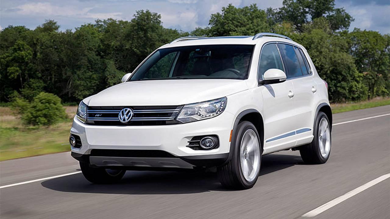 2014 Volkswagen Tiguan front