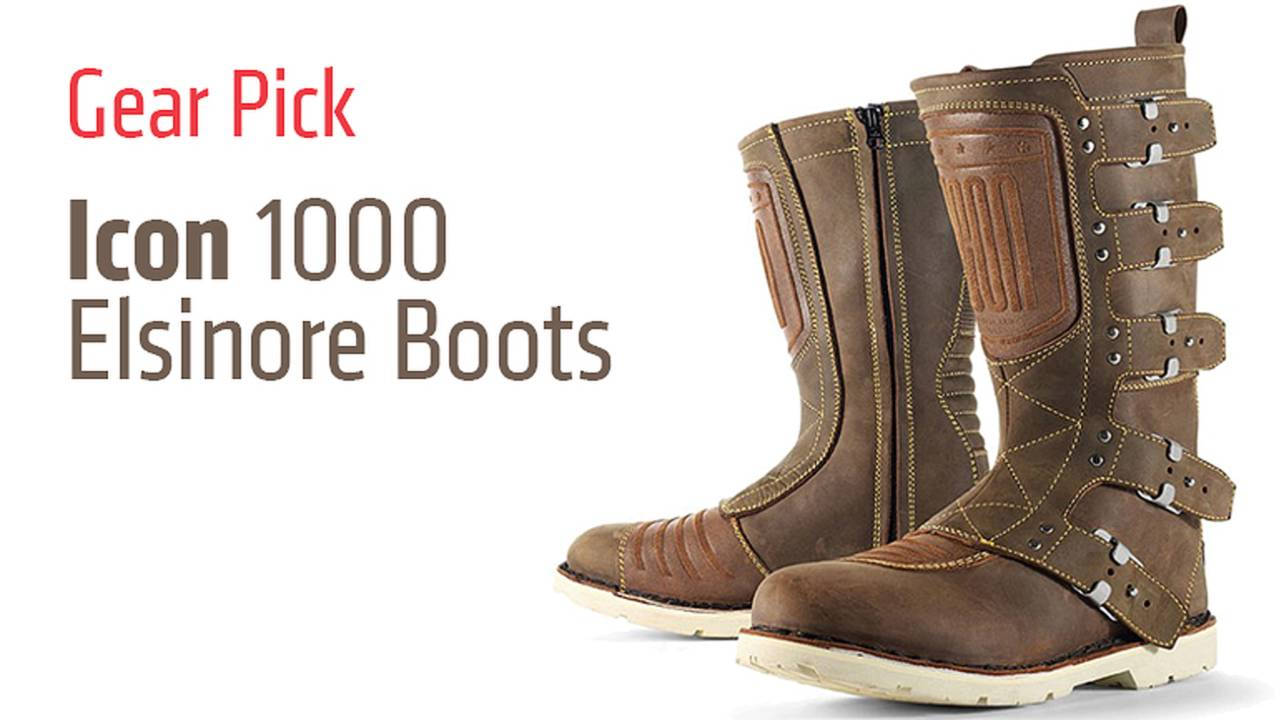 Gear Pick: Icon 1000 Elsinore Boots