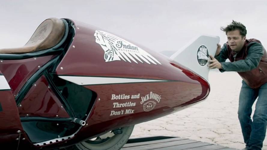 Watch Indian's The Spirit Of Munro Tackle El Mirage