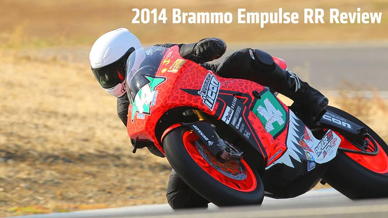 2014 Brammo Empulse RR Review — Riding The TTXGP Champion