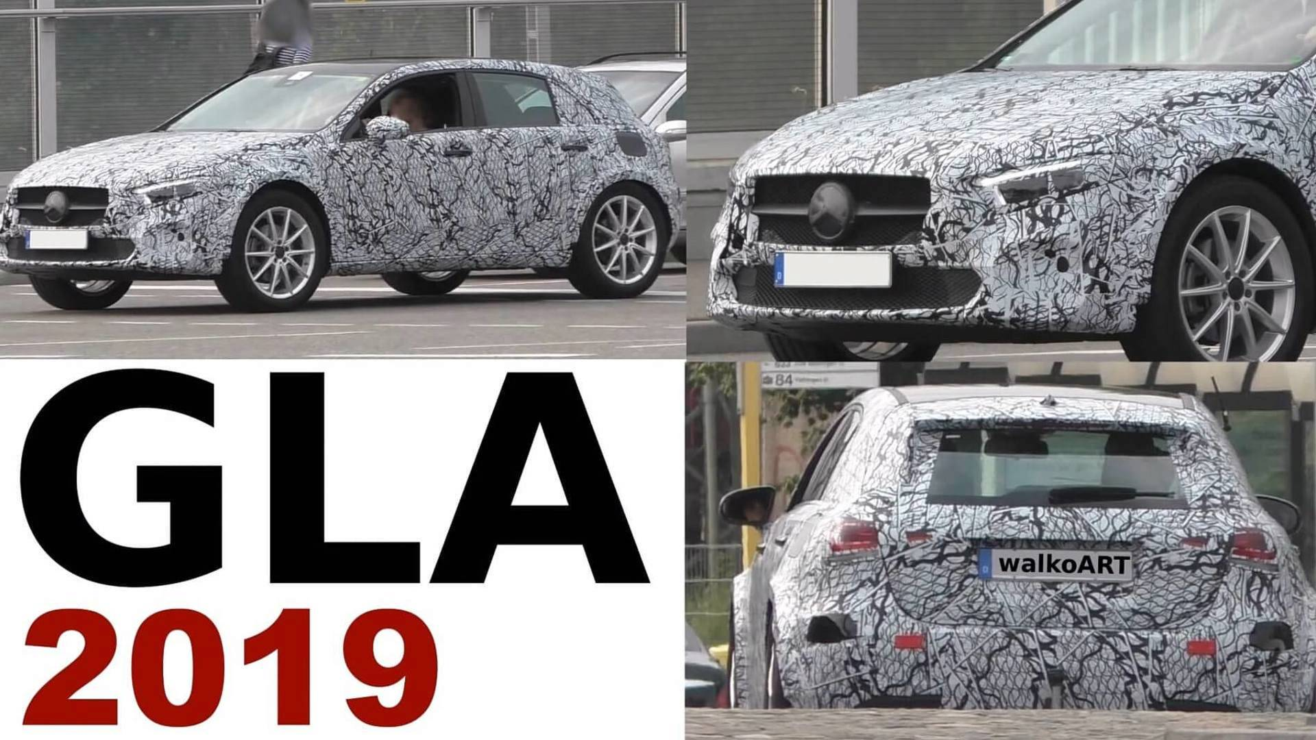New Mercedes Gla Still Looks Like A Jacked Up A Class In Spy