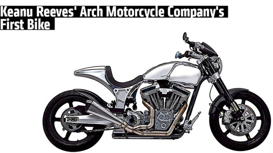 Keanu Reeves' Arch Motorcycle Company's First Bike Launch