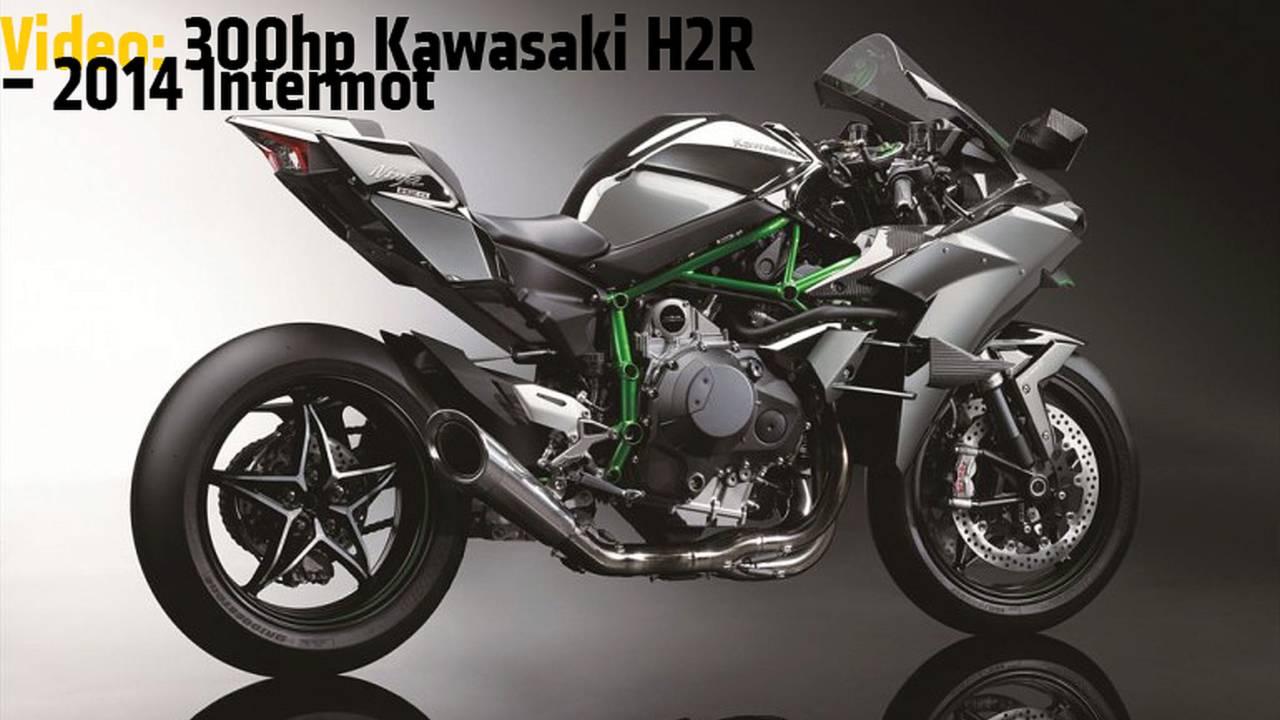 Video: 300hp Kawasaki H2R - 2014 Intermot