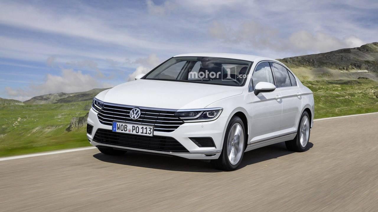 2019 VW Passat facelift (Euro Spec) render