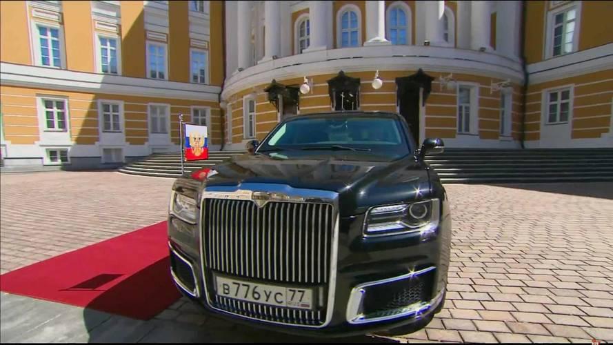 Vladimir Putin'in Yeni Limuzini