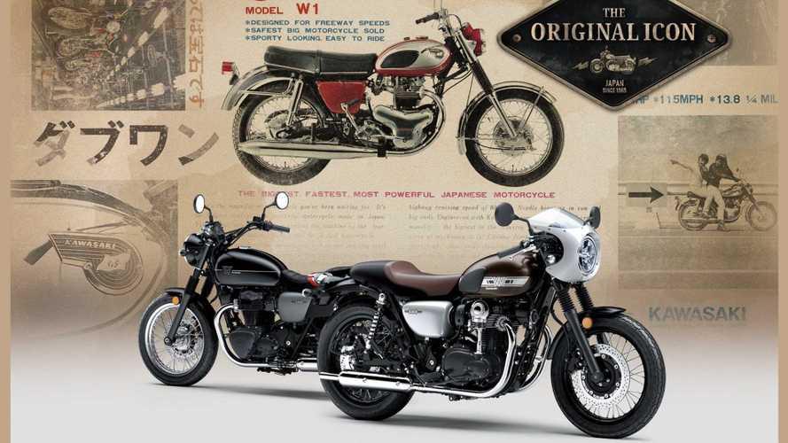 Kawasaki regresa al pasado con la actualizada W800