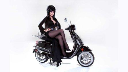 Vespa Los Angeles Releases Special Limited Elvira Macabre Edition