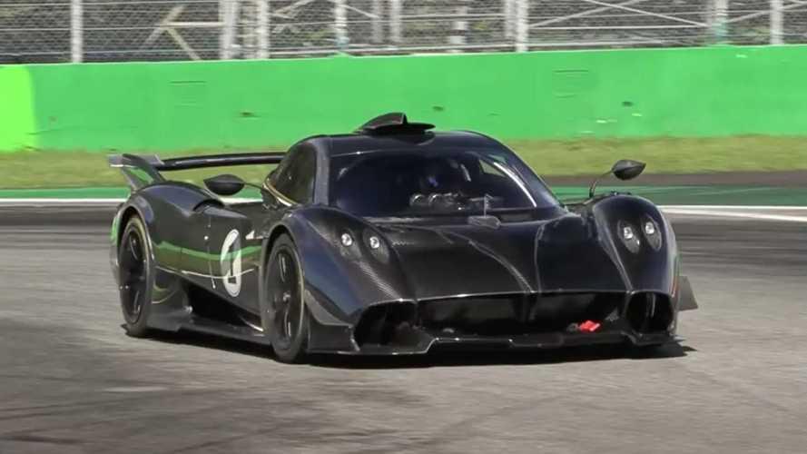 Experience Pagani Huayra R's Screaming V12 At Monza On Video