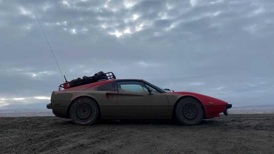 El espectacular viaje al Ártico de este Ferrari 308 GTSi