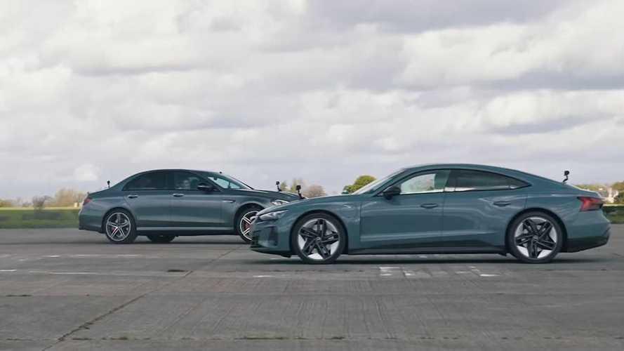 Vídeo: duelo entre el Audi RS e-tron GT y el Mercedes-AMG E 63 S
