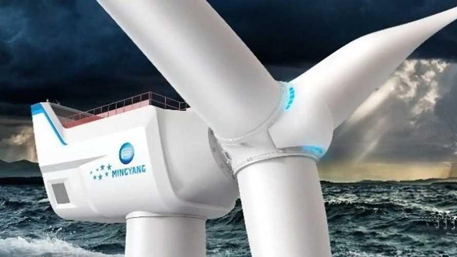 La pala eolica più grande al mondo? Ha pale lunghe 118 metri