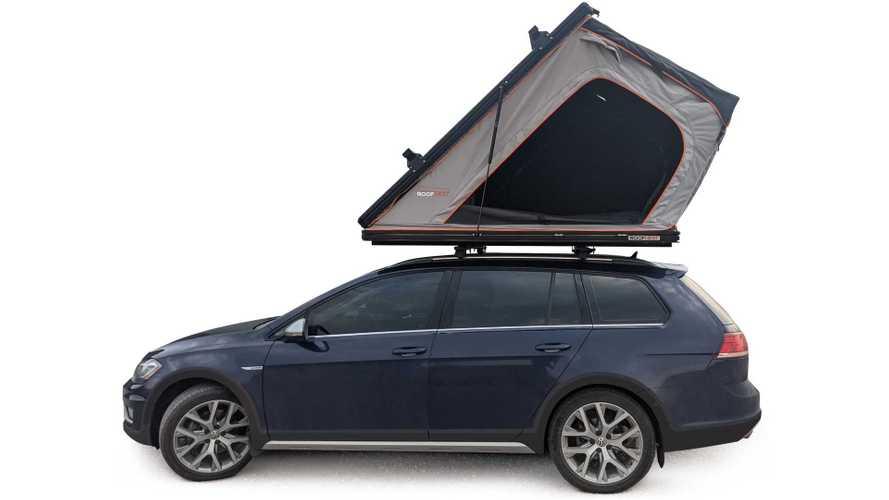 Roofnest Falcon Pro, Tenda untuk Mobil Bernuansa Camper Van