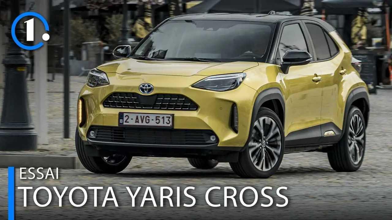 Toyota Yaris Cross cover