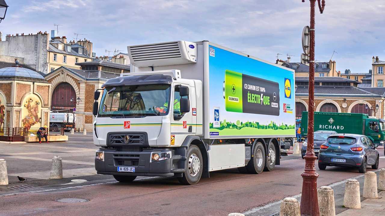 Renault Trucks D Wide Z.E. da 19 tonnellate