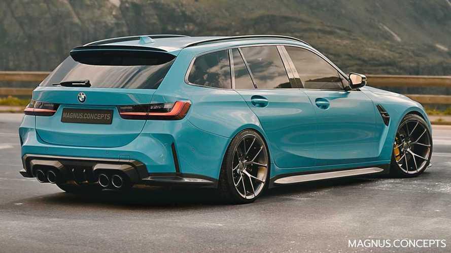 Tak Sabar Menanti, Ini Rendering BMW M3 Touring Station Wagon