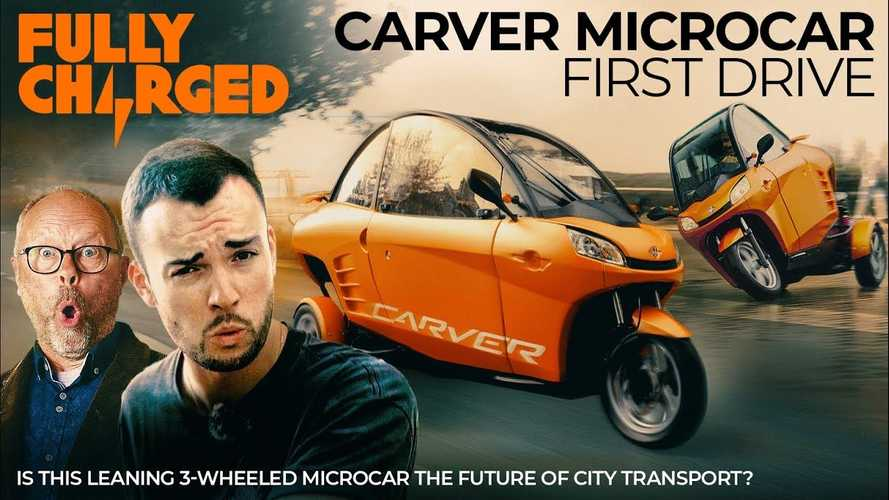 Carver EV First Drive: The Future Of City Transport?