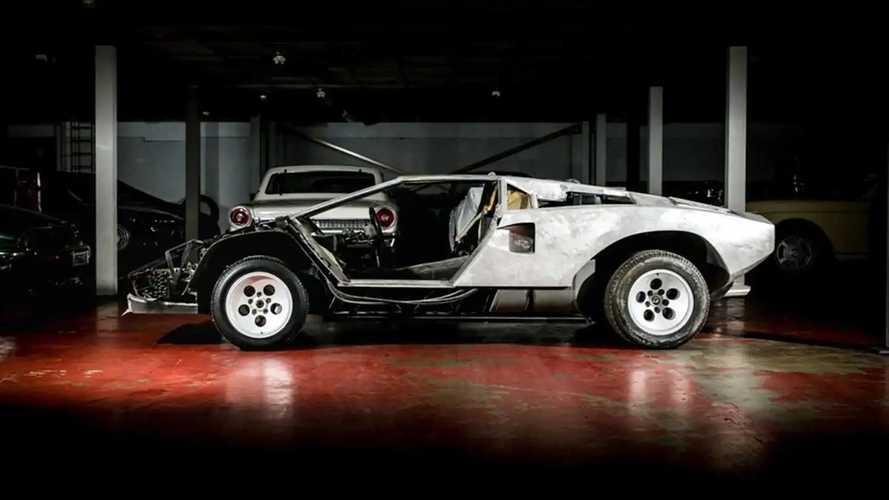 Qui veut s'attaquer à la restauration d'une Lamborghini Countach ?