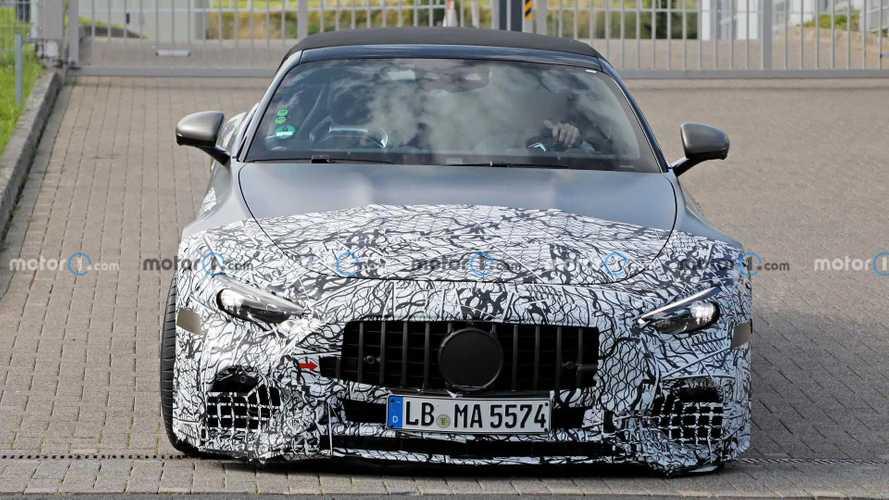 Photos espion - Mercedes-AMG SL (2022)
