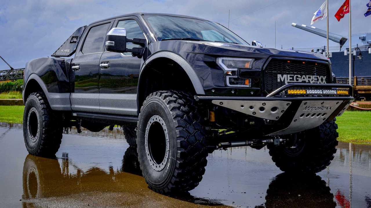 MegaRexx MegaRaptor based on Ford F-250 Super Duty Platinum