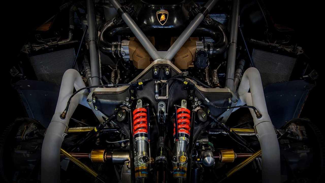 Lamborghini SCV12 engine