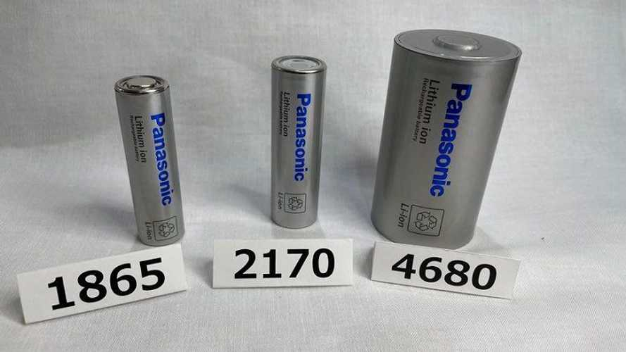 Panasonic Unveils 4680-Type Cylindrical Battery Cell Prototype