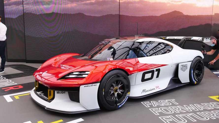 Porsche Mission R Concept Previews Future Electric Sustainable Race Car