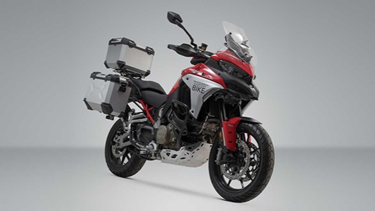 SW-Motech Launches Range Of Accessories For Ducati Multistrada V4