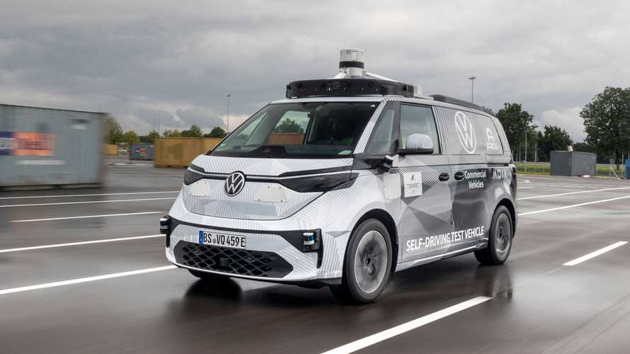 Volkswagen ID.Buzz, a Monaco il primo prototipo a guida autonoma