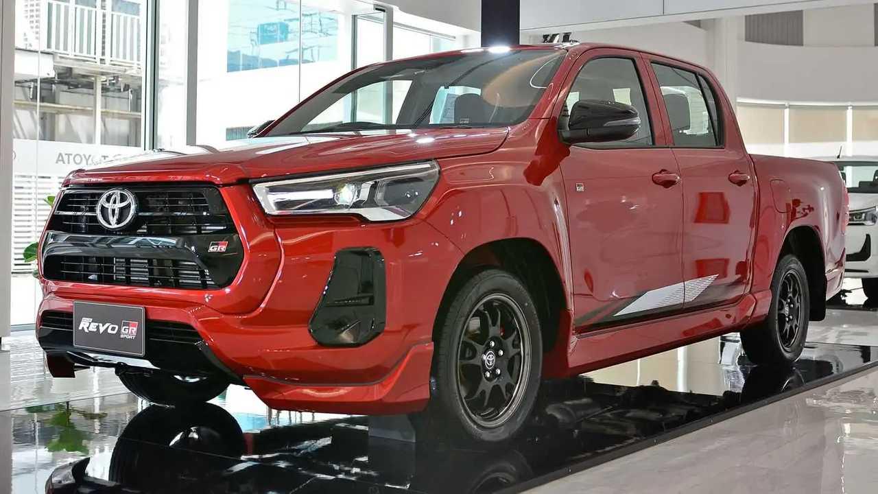 Toyota Hilux Revo GR Sport.