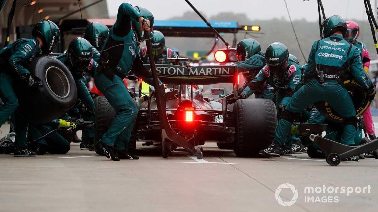 Sebastian Vettel at Turkish GP 2021